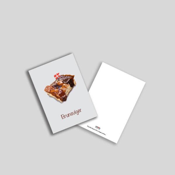 Brunsviger fra Fyn postkort A5
