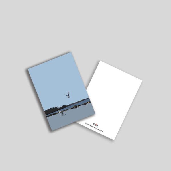 Holckenhavn dæmning A5 postkort
