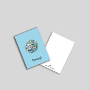 Romkugle postkort